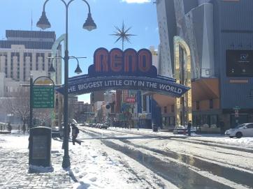 Reno City Entrance Sign