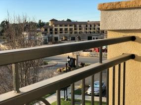 Construction for new area at Vino Bello Resort